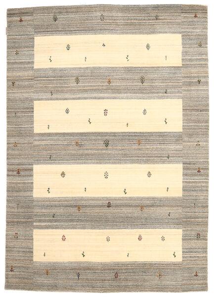 Loribaf Loom Matta 168X239 Äkta Modern Handknuten Ljusgrå/Gul (Ull, Indien)