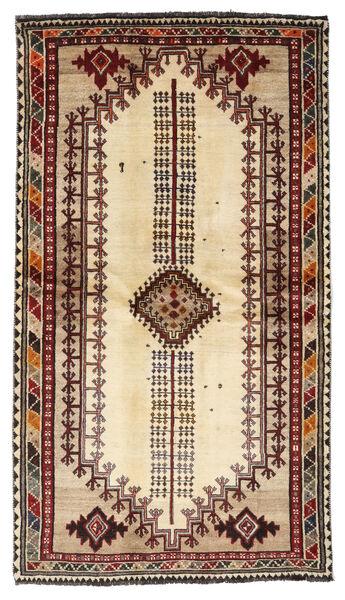 Ghashghai Matta 126X228 Äkta Orientalisk Handknuten Mörkbrun/Beige (Ull, Persien/Iran)
