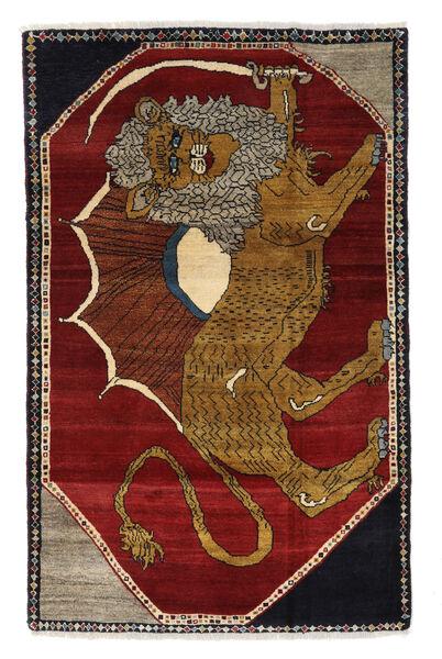 Ghashghai Matta 111X175 Äkta Orientalisk Handknuten Brun/Mörkröd (Ull, Persien/Iran)