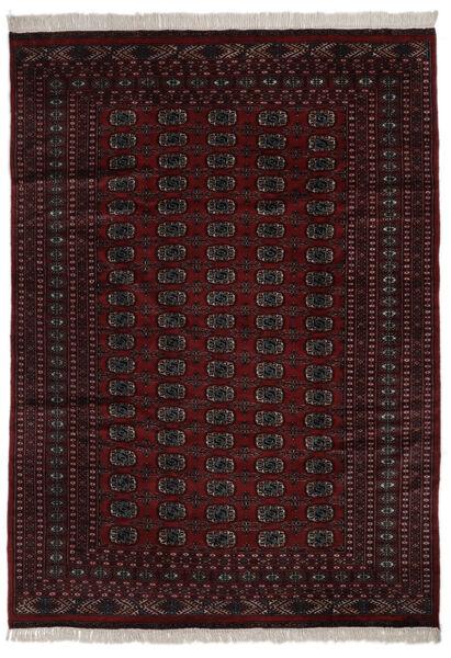 Pakistan Bokhara 2Ply Matta 184X262 Äkta Orientalisk Handknuten Svart (Ull, Pakistan)