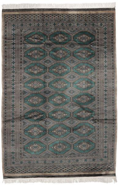 Pakistan Bokhara 2Ply Matta 162X232 Äkta Orientalisk Handknuten Svart/Mörkgrå (Ull, Pakistan)
