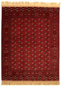 Bokhara/Yamut Matta 201X252 Äkta Orientalisk Handknuten (Ull, Turkmenistan)