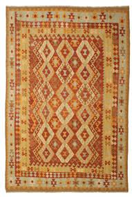 Kelim Afghan Old Style Matta 197X293 Äkta Orientalisk Handvävd (Ull, Afghanistan)
