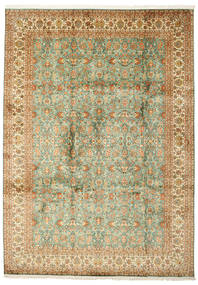 Kashmir Äkta Silke Matta 223X313 Äkta Orientalisk Handknuten (Silke, Indien)