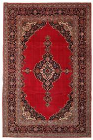 Keshan Patina Matta 240X374 Äkta Orientalisk Handknuten Mörkröd/Mörkbrun (Ull, Persien/Iran)