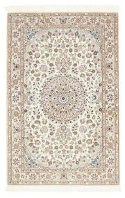 Nain 6La Matta 100X156 Äkta Orientalisk Handknuten Ljusgrå/Beige (Ull/Silke, Persien/Iran)