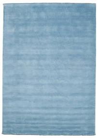 Handloom Fringes - Ljusblå Matta 250X350 Modern Ljusblå Stor (Ull, Indien)