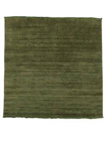 Handloom Fringes - Grön Matta 200X250 Modern Olivgrön/Mörkgrön (Ull, Indien)