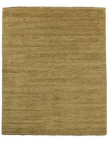 Handloom Fringes - Olivgrön Matta 200X250 Modern Olivgrön/Brun (Ull, Indien)