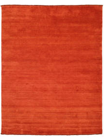 Handloom Fringes - Rost/Röd Matta 200X250 Modern Roströd/Orange (Ull, Indien)