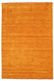 Handloom Fringes - Orange Matta 160X230 Modern Gul/Ljusbrun/Orange (Ull, Indien)
