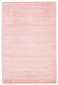 Handloom Fringes - Rosa Matta 160X230 Modern Ljusrosa (Ull, Indien)