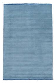Handloom Fringes - Ljusblå Matta 80X120 Modern Ljusblå/Blå (Ull, Indien)
