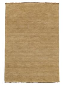 Handloom Fringes - Beige Matta 140X200 Modern Mörkbeige/Ljusbrun (Ull, Indien)