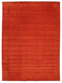 Handloom Fringes - Rost/Röd Matta 300X400 Modern Roströd Stor (Ull, Indien)