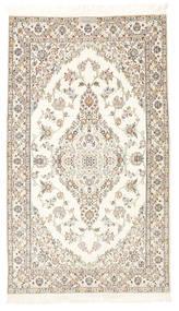 Nain 6La Habibian Matta 103X177 Äkta Orientalisk Handknuten Beige/Ljusgrå (Ull/Silke, Persien/Iran)