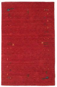 Gabbeh Loom Frame - Rost Röd Matta 100X160 Modern Röd (Ull, Indien)