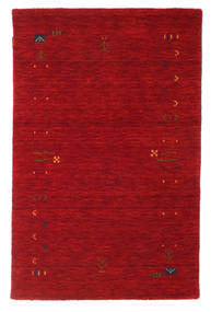 Gabbeh Loom Frame - Röd Matta 100X160 Modern Röd/Mörkröd (Ull, Indien)