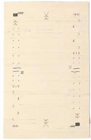 Gabbeh Loom Frame - Naturvit Matta 100X160 Modern Beige/Ljusrosa (Ull, Indien)