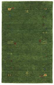 Gabbeh Loom Frame - Grön Matta 100X160 Modern Mörkgrön/Mörkgrön (Ull, Indien)