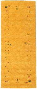 Gabbeh Loom Frame - Gul Matta 80X200 Modern Hallmatta Gul (Ull, Indien)
