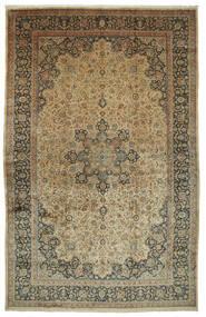 Mashad Astan Ghods Matta 508X789 Äkta Orientalisk Handknuten Ljusbrun/Mörkgrå Stor (Ull, Persien/Iran)