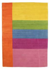 Colors By Meja Handtufted Matta 160X230 Modern Orange/Ljusrosa (Ull, Indien)