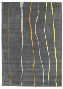 Flaws Handtufted - Grå Matta 160X230 Modern Mörkgrå/Ljusgrå (Ull, Indien)
