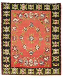 Kelim Semiantik Matta 260X305 Äkta Orientalisk Handvävd Röd/Mörkgrå Stor (Ull, Slovenien)