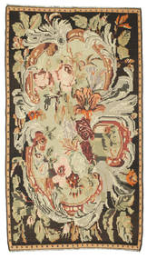 Rosenkelim Matta 180X315 Äkta Orientalisk Handvävd Brun/Mörkbeige (Ull, Moldavien)