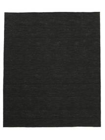 Kelim Loom - Svart Matta 250X300 Äkta Modern Handvävd Svart Stor (Ull, Indien)