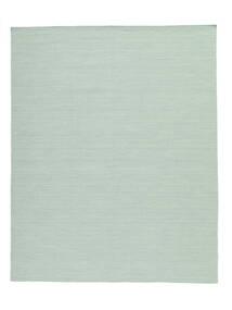 Kelim Loom - Mint Grön Matta 200X250 Äkta Modern Handvävd Pastellgrön/Turkosblå (Ull, Indien)