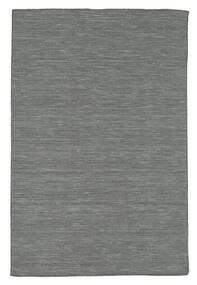 Kelim Loom - Mörkgrå Matta 120X180 Äkta Modern Handvävd Mörkgrön/Ljusgrå (Ull, Indien)