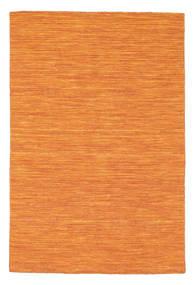 Kelim Loom - Orange Matta 120X180 Äkta Modern Handvävd Orange (Ull, Indien)