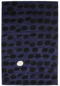 Camouflage Handtufted - Mörk Matta 200X300 Modern Svart/Mörkblå (Ull, Indien)