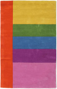 Colors By Meja Handtufted Matta 100X160 Modern Rosa/Roströd (Ull, Indien)