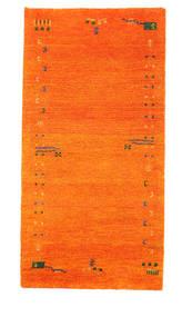 Gabbeh Indisk Matta 73X143 Äkta Modern Handknuten Orange (Ull, Indien)