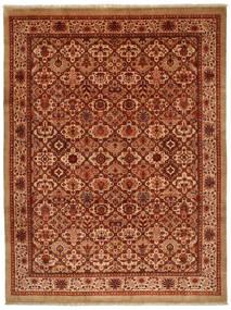 Jozan Matta 261X346 Äkta Orientalisk Handknuten Roströd/Röd Stor (Ull, Persien/Iran)