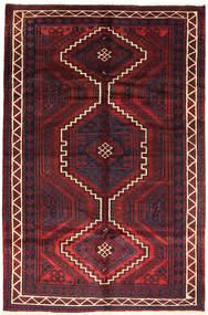 Lori Matta 163X248 Äkta Orientalisk Handknuten Mörkröd/Mörkbrun (Ull, Persien/Iran)