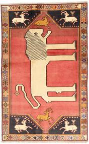 Ghashghai Matta 118X189 Äkta Orientalisk Handknuten Beige/Mörkröd (Ull, Persien/Iran)