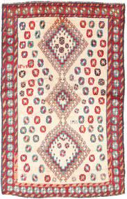Ghashghai Matta 120X188 Äkta Orientalisk Handknuten Beige/Ljusgrå (Ull, Persien/Iran)