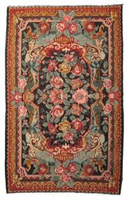 Rosenkelim Moldavia Matta 215X345 Äkta Orientalisk Handvävd Röd/Olivgrön (Ull, Moldavien)
