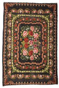Rosenkelim Moldavia Matta 233X365 Äkta Orientalisk Handvävd Mörkbrun/Mörkgrå (Ull, Moldavien)