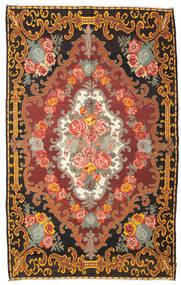 Rosenkelim Moldavia Matta 219X351 Äkta Orientalisk Handvävd Mörkbrun/Brun (Ull, Moldavien)
