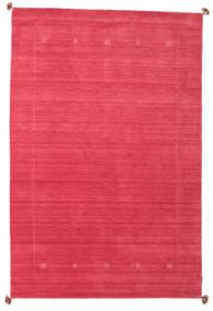 Loribaf Loom Matta 189X288 Äkta Modern Handknuten Röd/Rosa (Ull, Indien)