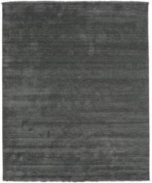 Handloom Fringes - Mörkgrå Matta 250X300 Modern Mörkgrön/Mörkgrön Stor (Ull, Indien)