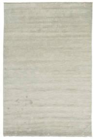 Handloom Fringes - Grå/Ljusgrön Matta 200X300 Modern Ljusgrå/Ljusbrun (Ull, Indien)