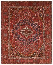 Bakhtiar Patina Matta 337X431 Äkta Orientalisk Handknuten Mörkröd/Roströd Stor (Ull, Persien/Iran)