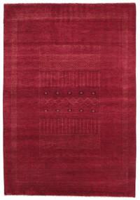 Gabbeh Loribaft Matta 152X222 Äkta Modern Handknuten Röd/Mörkröd (Ull, Indien)