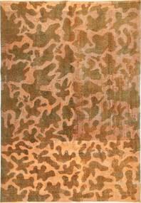Colored Vintage Matta 195X285 Äkta Modern Handknuten Brun/Ljusbrun (Ull, Persien/Iran)